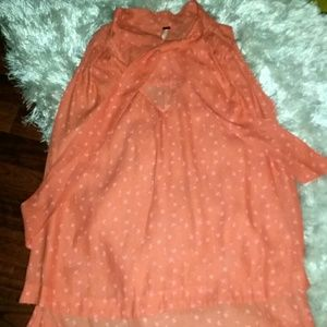 NWT Free People summer top sz m